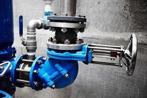 pump-station-elbow-check-valve-gate